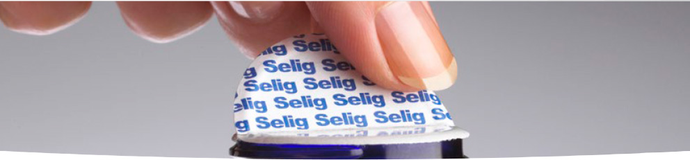 Lift 'n' Peel induction seal by Selig