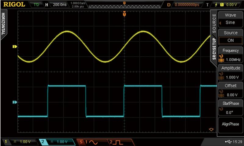 Debug and emulate signals all in one instrument