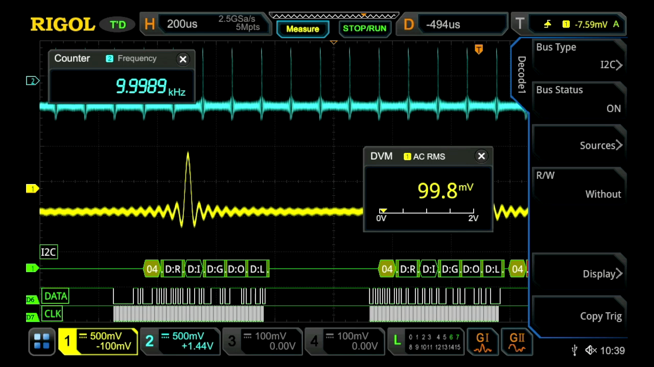 Combine an Oscilloscope, Logic Analyzer, Protocol Analyzer, Waveform Generator, Voltmeter, and Counter/Totalizer in one instrument to quickly find answers to your measurement challenges.