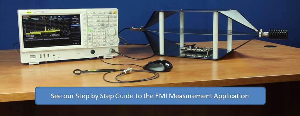 EMI Measurement Application