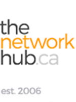 the network hub Logo