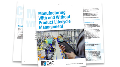 Manufacturing With and Without Product Lifecycle Management (PLM)