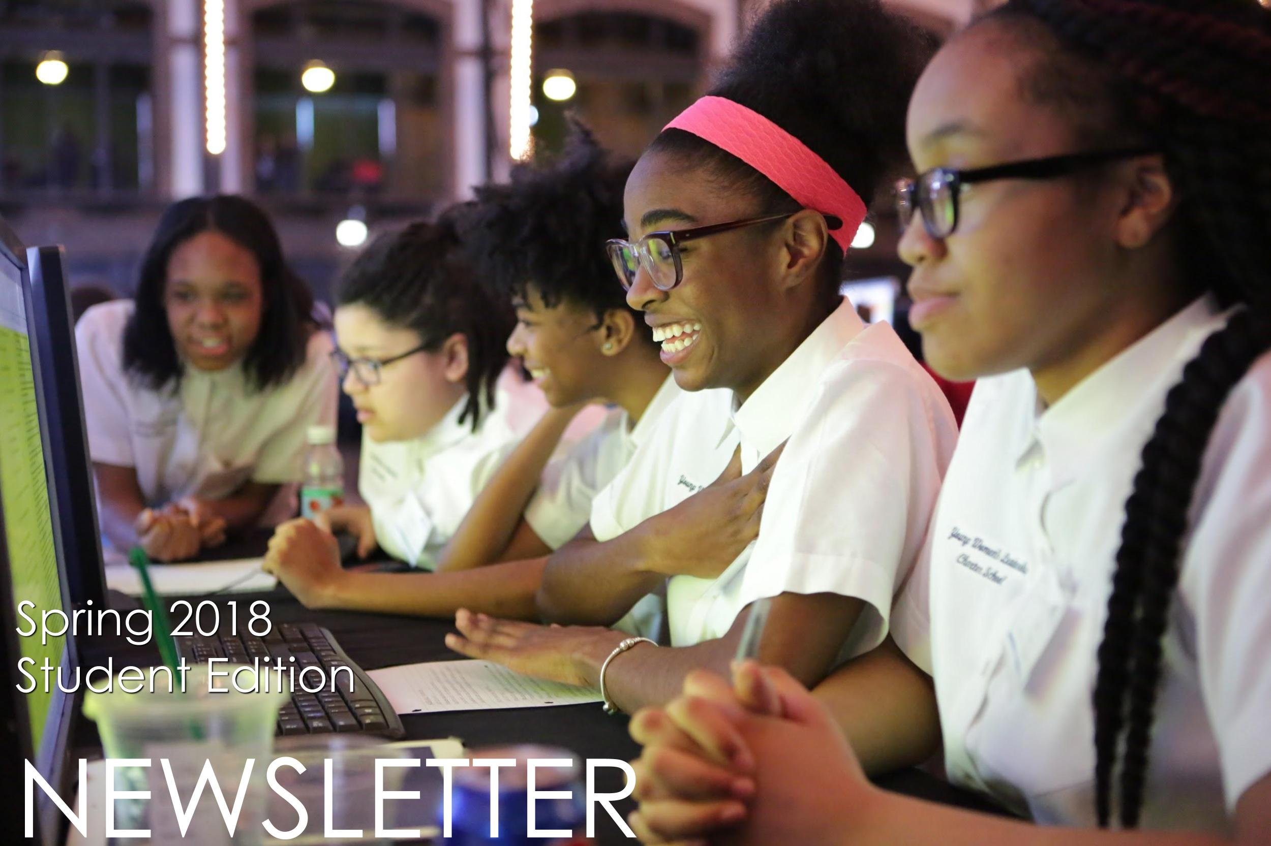 Financial education newsletter for high school students
